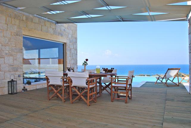 Аренда дома на крите на берегу моря ханья